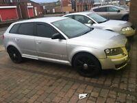 Audi A3 sports back sline
