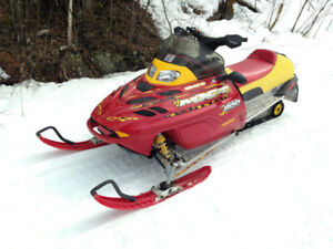 Ski-Doo Snowmobile Parts - ZX, REV, and REV XP