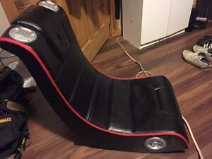 The rocker chair. ( iPod /gamer compatible)