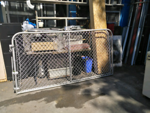 Two metal gates, very good condition
