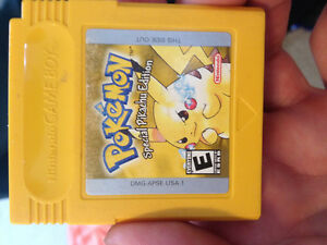 Pokemon yellow special edition