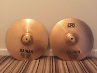 """14"""" Sabian B8 hi hats"""