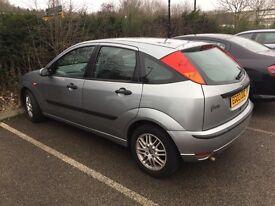 Ford Focus 1.8 diesel,115 bhp, 2003, £599,