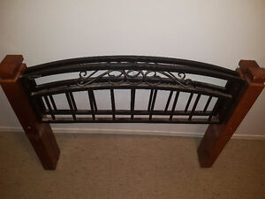 Toddler single bed frame and base New price