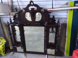Bevelled Glass Entrance Mirror