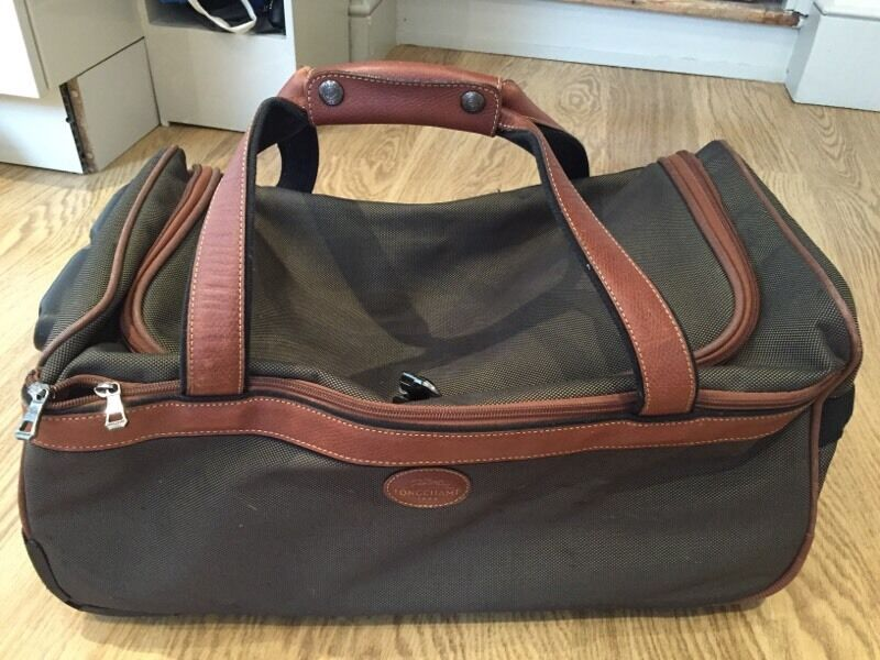Longchamp Boxford Duffle Bag In Brown For