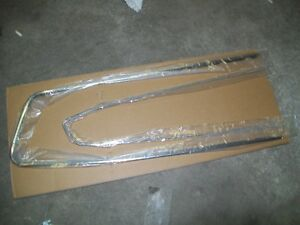 pony stainless door panel trim new