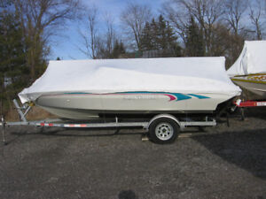 "1995 MANTA RAY 17'-9"" OPEN BOW 130HP"