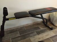 Gym bench Never used !!