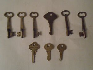 Vintage Keys from Belleville Ontario