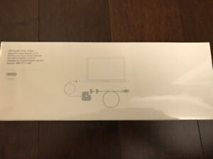 BRAND NEW Apple laptop charger / adapter