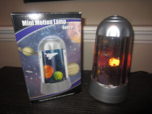 Spinning Space Lamp