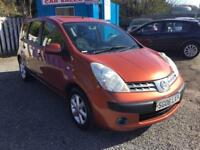 Nissan Note 1.4 16v SE***3 MONTHS PARTS AND LABOUR WARRANTY
