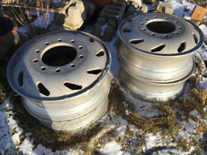 Aluminum tire rims - I think they're 20-5