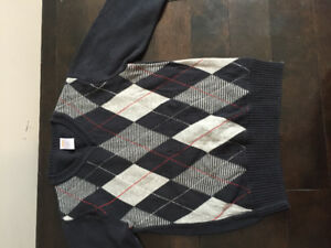 Boys' sweaters size 7/8 worn once - and new!