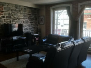 Downtown large 2 bedroom loft