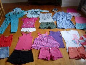 lot de vêtements été fille grandeur 12 ans