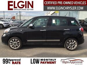 2015 FIAT 500L Lounge***Leather,Pano,Navi,B-up Cam*** London Ontario image 8