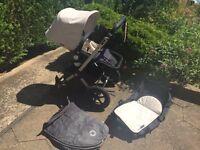 Bugaboo cameleon pushchair carrycot footmuff