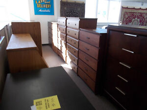 Large selection of new dressers. $199 and up.