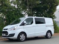 2016 16 Ford Transit Custom 2.2TDCi 125PS Double Cab-in-Van Crew Cab - NO VAT