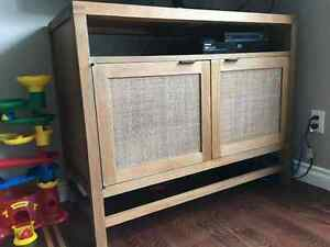 Crate and Barrel Media Console for Sale - Blake Grey Wash 42""