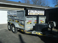 JUNK MUST GO **Ease To Load Trailers ** Roland 613 407-9500