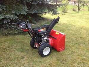 MOVING!  Yard Machine Snow Thrower – Excellent Condition