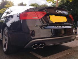 Audi S5 2012-2016 genuine rear diffuser