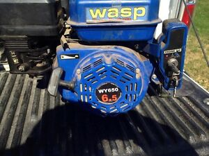 2 small gas engines one 13.0 hp and a 6.5 hp
