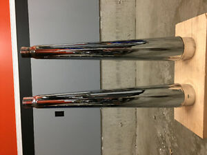 Harley Davidson Exhaust Pipes