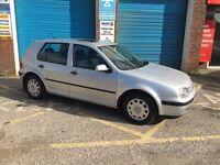 Volkswagen Golf new mot & tyres. Very reliable car £850