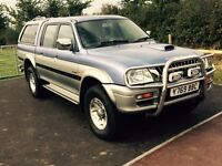 MITSUBISHI L200 2001 VGC USED AS CAR.