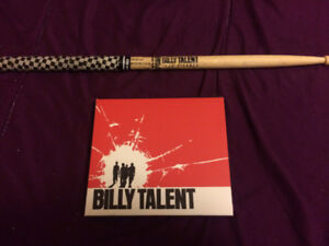 Billy Talent CD And Drum Stick Billy Talent CD 20th Anniversary