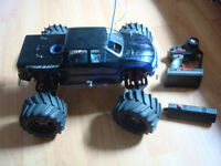 RC TRAXXAS NITRO .26 PICCO TMAXX WITH A TON OF UPGRADES