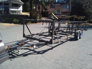 $5,300 · SAIL BOAT TRAILER 5800 obo fit 27' sailboat or less