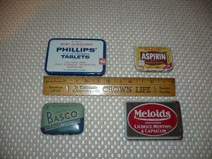 4- Petites boites en métal pour collectonneurs ou débutants.