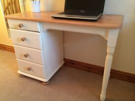 Hand Painted Solid Pine 5 Drawer Dresser