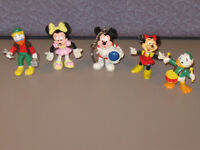 Vintage lot Bully Figurines Walt Disney Productions Mikey Mouse