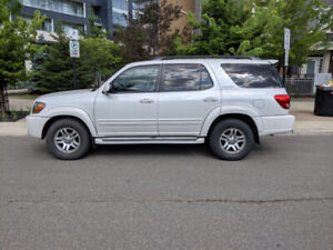 2006 Toyota Sequoia Limited - RWD -Pearl White - Great Condition