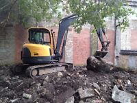 Digger jobs ground works