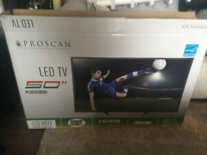 "New 50"" Large Big LED TV television mount and stand 3 hdmi ports Strathcona County Edmonton Area image 3"