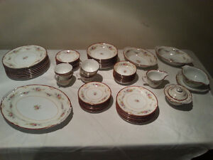 Kongo Hand Painted China set