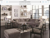 Grey Sectional for Sale $250