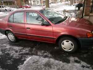1997 Toyota Tercel CE 4dr sedan - e-tested, runs great!