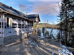 Lac Archange , zoné blanc construisible.