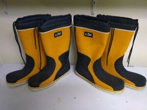 Gill sailing boots, size  11