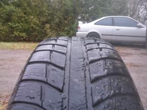 Michelin Ice snow tires& rims