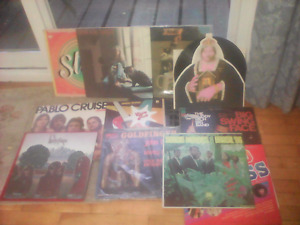 Box 97 from a collection of 9,000 vintage and rare LP RECORDS-
