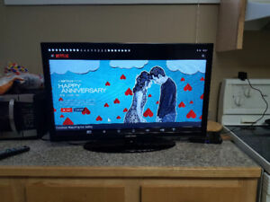 Like new Samsung 32inch LED flat screen tv